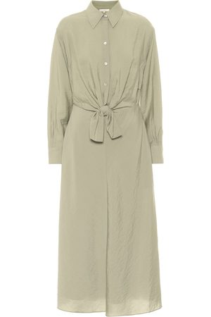 Vince Crêpe shirt dress