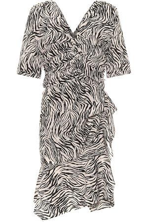 Isabel Marant Arodie stretch-silk minidress
