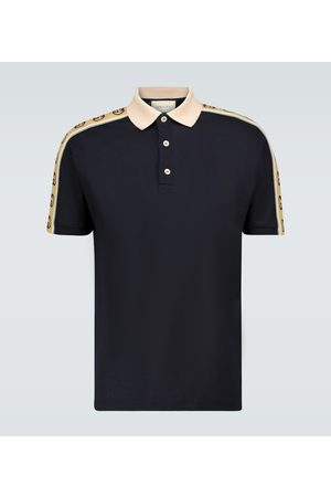 Gucci Interlocking G stripe polo shirt