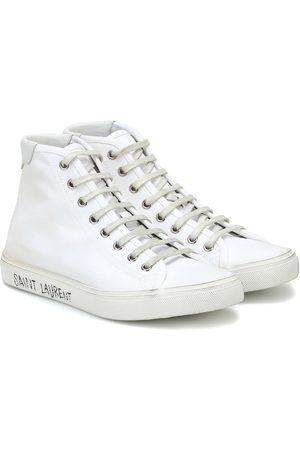 Saint Laurent Malibu canvas sneakers