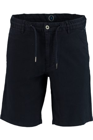 Bos Bright Blue Ferdinand Chino Short W. Cord 20109FE02SB/290 navy