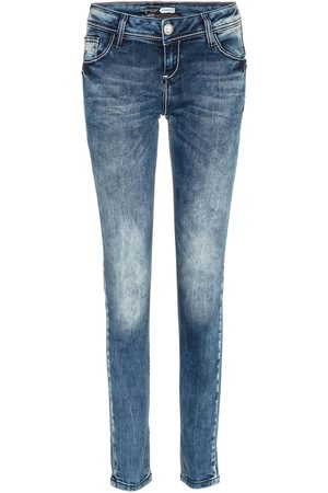 Cipo & Baxx Dames Straight - Jeans 'WD286