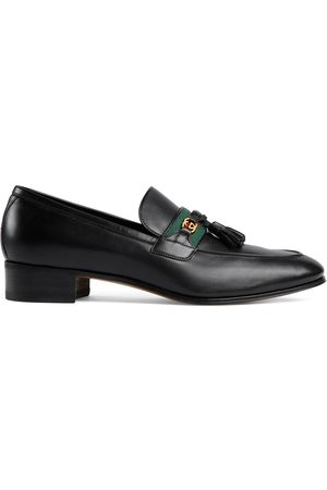 Gucci Men's loafer with Web and Interlocking G