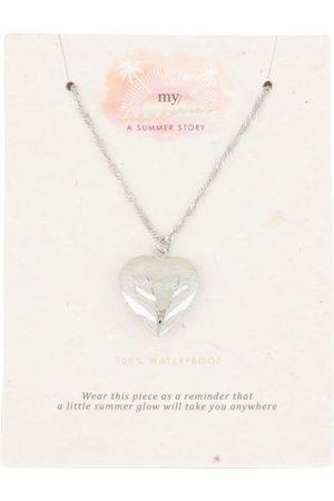 My Jewellery Dames Kettingen - Kettingen Ketting hart amour Zilverkleurig
