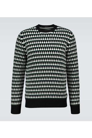Prada Wool and cashmere-blend sweater