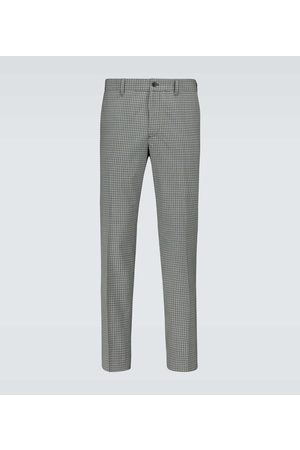 Prada Checked tailored pants