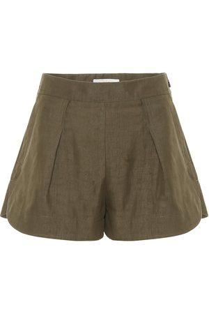 Chloé Linen and cotton shorts