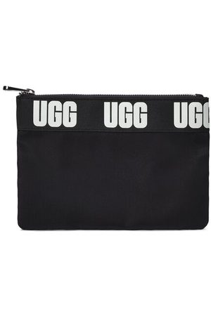 UGG Medium Zip Pouch Sport Clutch voor Dames in Black, maat OS | Polyester