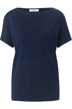 Peter Hahn Shirt met korte mouwen en boothals Van