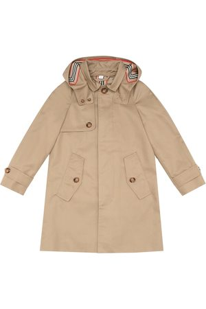 Burberry Bradley Icon Stripe cotton-twill parka