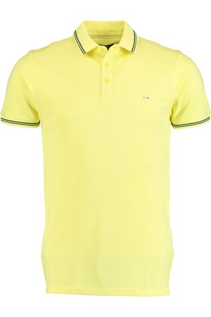 Bos Bright Blue Jason Polo Fine Pique Plain 20108JA30BO/450 citron