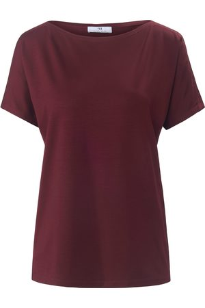 Peter Hahn Dames Korte mouw - Shirt met korte mouwen en boothals Van