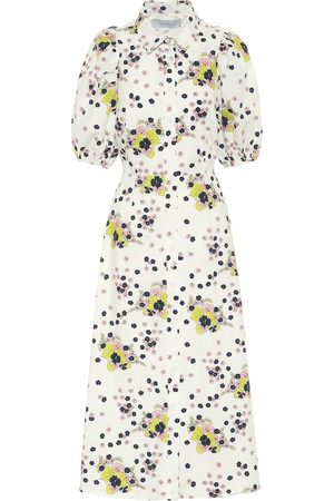 Les Rêveries Exclusive to Mytheresa – Floral cotton poplin shirt dress