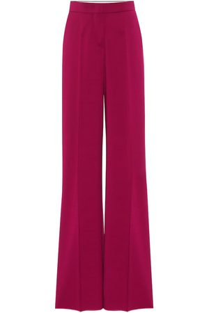Max Mara Nebbia high-rise wide-leg pants