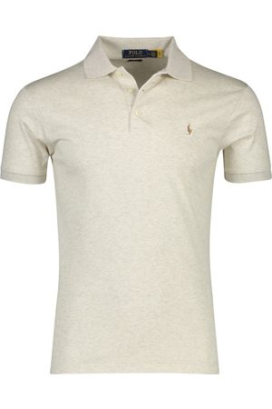 Polo Ralph Lauren Heren Poloshirts - Ralph Lauren polo Slim Fit melange