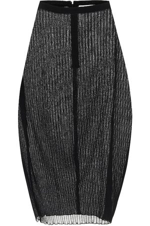 Jil Sander High-rise midi skirt