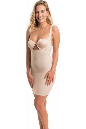 MAGIC Bodyfashion Maxi Sexy Dress | Soft Nude
