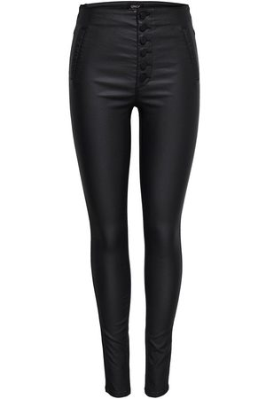 Only Dames Leggings & Treggings - Coated Leggings Dames