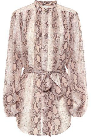 ZIMMERMANN Dames Blouses - Bellitude ramie blouse