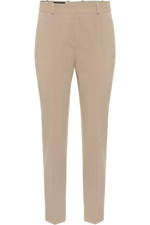 Loro Piana Winter Derk Aster stretch-cotton pants