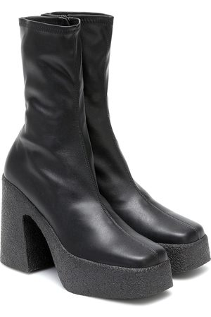 Stella McCartney Faux-leather platform ankle boots