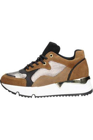 Sub55 Dames Lage schoenen - Sneakers Laag - Cognac