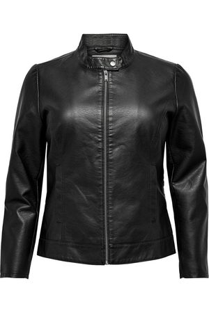 Carmakoma (Maatje Meer) Carrobber Faux Leather Jacket Noos