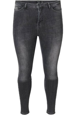 Vero Moda (maatje meer) Vmlora Hw Ss Bl Wash Jeans-k Curve :