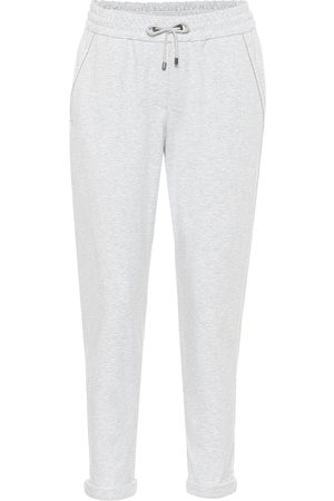Brunello Cucinelli Stretch-cotton sweatpants