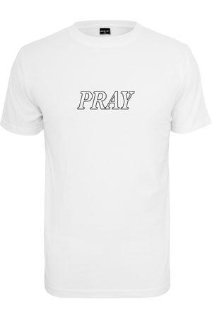 Mister Tee Heren Shirts - Shirt 'Pray Hands