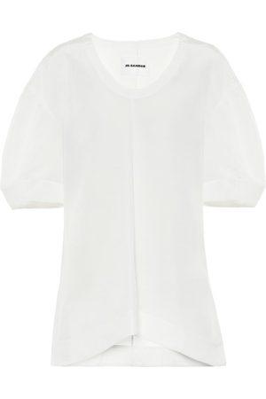Jil Sander Linen-blend top