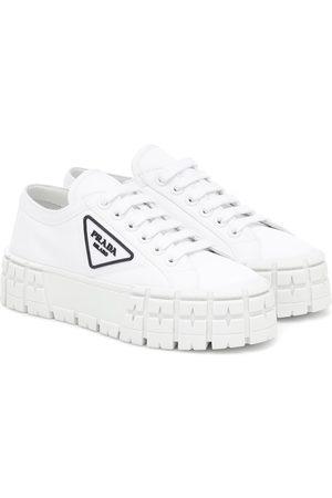 Prada Wheel gabardine sneakers