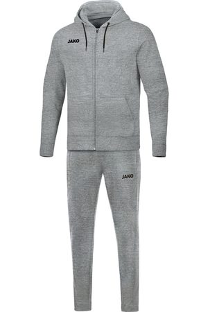 Jako Joggingpak base jas met kap m9665-41