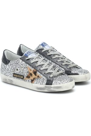 Golden Goose Superstar leather-trimmed sneakers