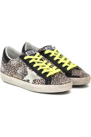 Golden Goose Superstar leopard-print sneakers