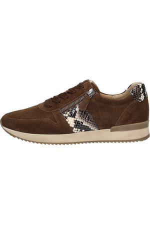 Gabor Sneakers Laag - Donkerbruin