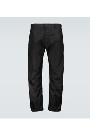 Prada Technical nylon pants