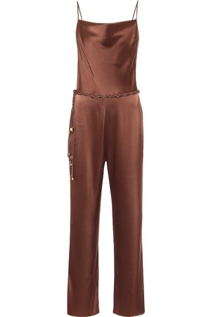 Nanushka Juniper satin jumpsuit
