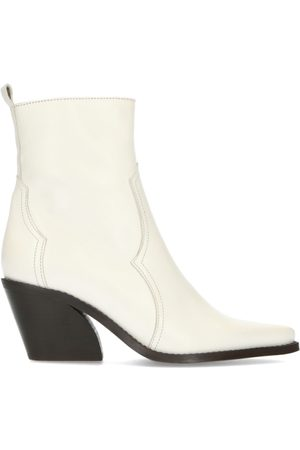 Manfield Off white cowboylaarsjes