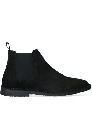 Sacha All black chelsea boots