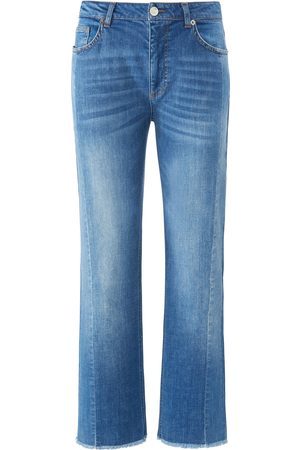 DAY.LIKE Dames Bootcut - Enkellange Wide Fit-jeans in 5-pocketsmodel Van