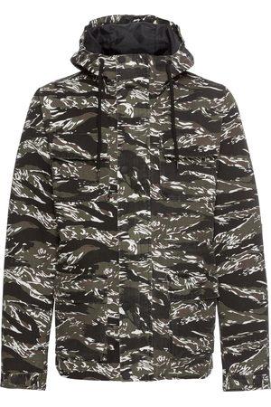 Urban classics Tussenjas 'Tiger Camo Cotton Jacket
