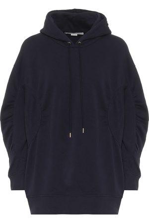 Stella McCartney Dames Truien - Cotton-jersey hoodie