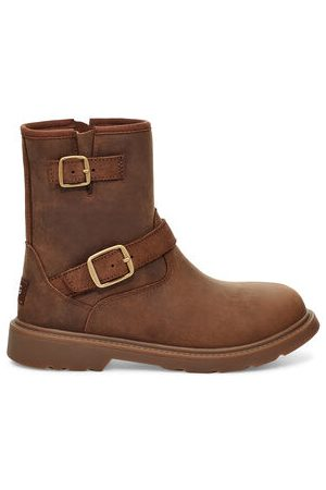 UGG Kinzey Weather Laarzen voor Peuters in Walnut, maat 23.5 | Leder