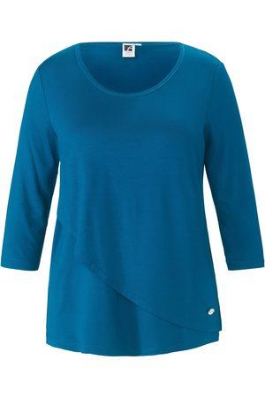 Anna Aura Dames Shirts - Shirt met 3/4-mouwen en dubbele voorkant Van
