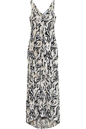 Paco rabanne Printed midi dress