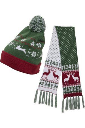 Urban classics Sjaal ' Christmas Set