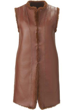 portray berlin Dames Vesten - Tweezijdig te dragen mouwloos vest Van