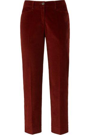 Brax Dames Slim & Skinny broeken - Slim Fit-7/8-breedribcordbroek model Mara S Van Feel Good