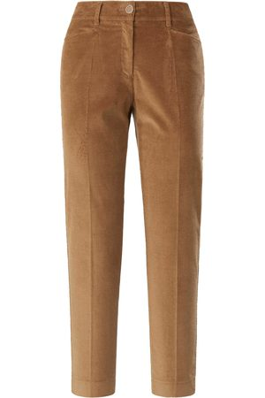 Brax Slim Fit-7/8-breedribcordbroek model Mara S Van Feel Good